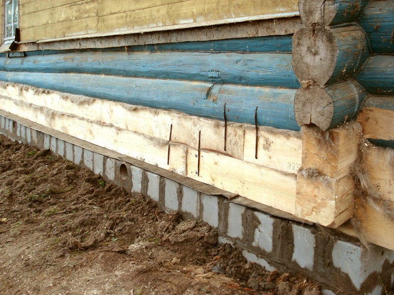 венец деревянного дома